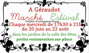 Permalien vers:Marché estival à Géraudot